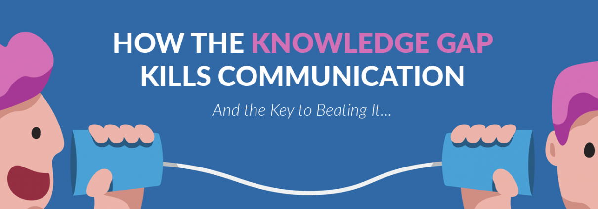 How the Knowledge Gap Kills Communication Blog Banner