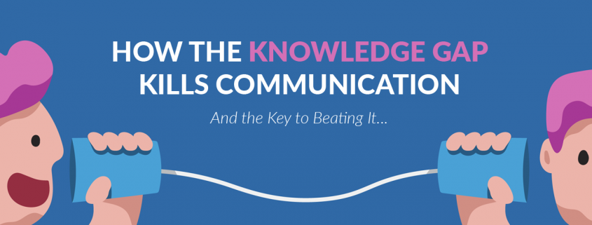 How the Knowledge Gap Kills Communication Blog Banner
