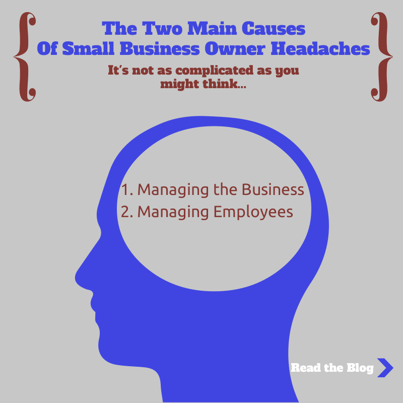 small business owner headaches