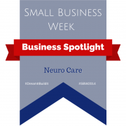 Banner - Small Business Week - Business Spotlight - Neuro Care