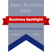 Banner - Small Business Week - Business Spotlight Statewide Service Company
