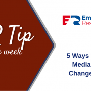 HR Tip of the week - 5 Ways Social Media has Changed HR
