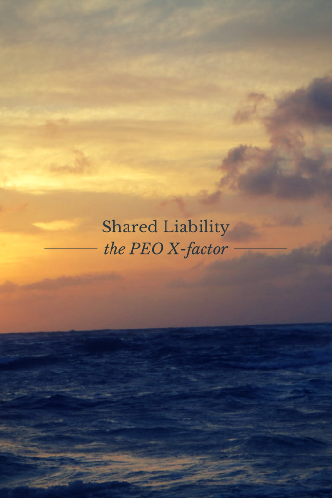 peo x factor shared liability