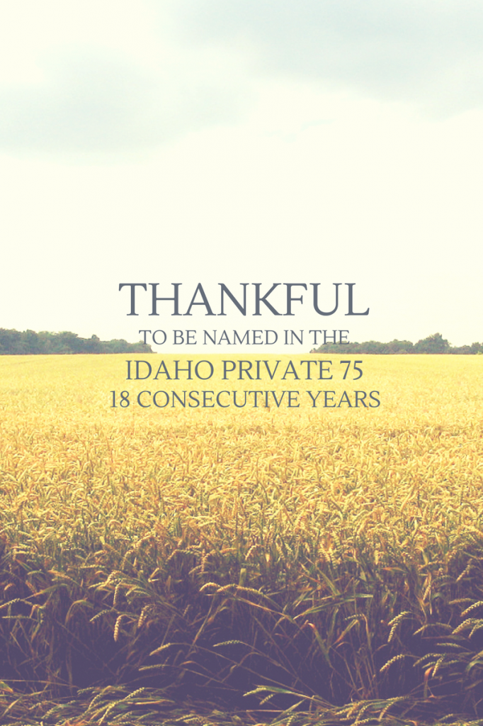 Idaho Private 75 2014