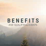 Mountains with a tree - Benefits And Qualifying Events