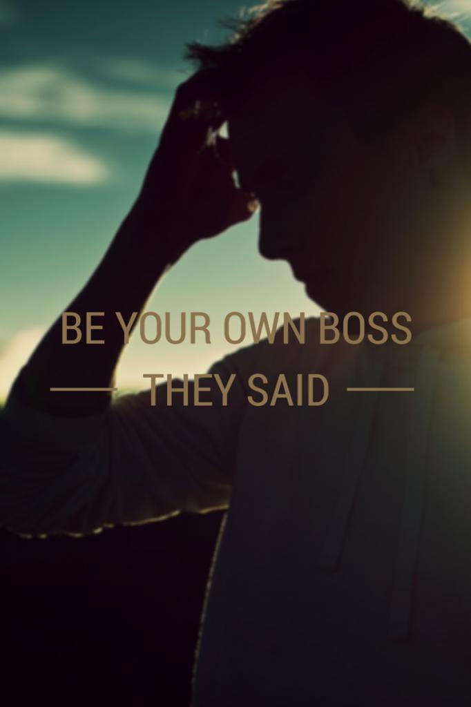 entrepreneurs own boss