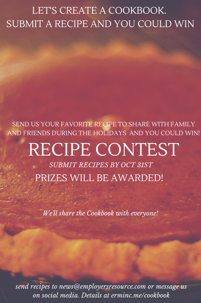 cookbook recipe contest