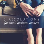 Women sitting on a couch with title - 3 resolutions for small business owners in 2015