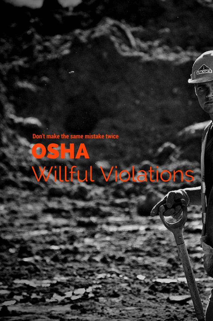 OSHA Willful Violation