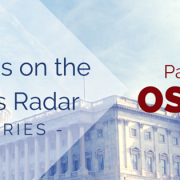 U.S. Capital Building with title - What's on the Fed's Radar - Series - Part 2 OSHA