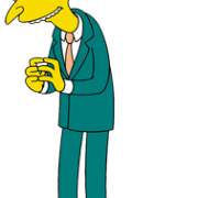 Mr Burns The Simpsons Twentieth Century Fox Film Corp. All Rights Reserved