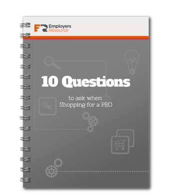 10 Questions To Ask When Shopping PEO ebook cover