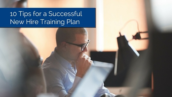 New Hire Training Plan feature