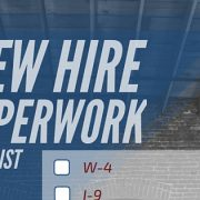 new hire paperwork overiew feature