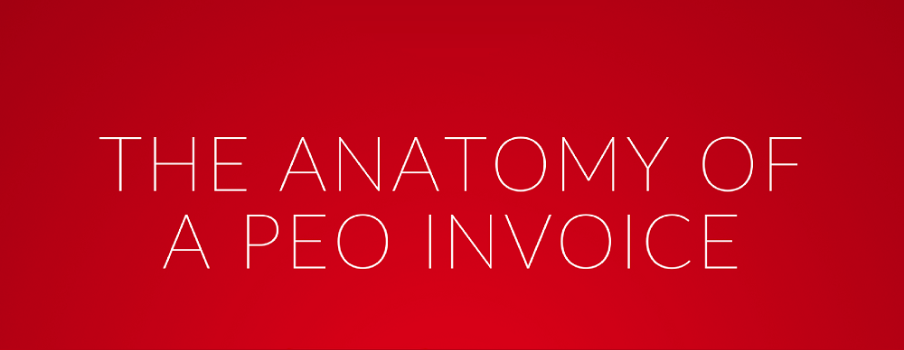 The Anatomy of a PEO Invoice