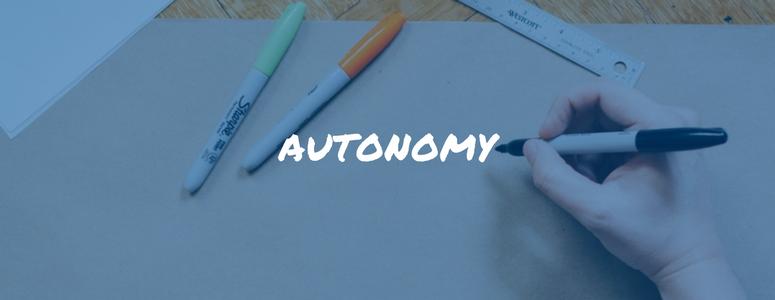 encouraging employee autonomy