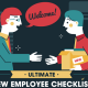 Ultimate New Employee Checklist Infographic