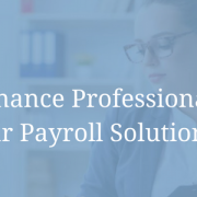 Finance Professionals [From our Payroll Solutions eBook]