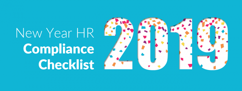 2019 New Year HR Checklist